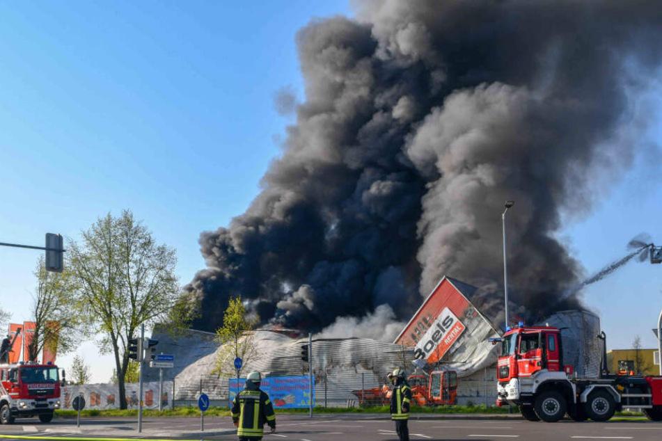 Minimum 3 Millionen Euro Schaden: Was löste den Mega-Brand aus?