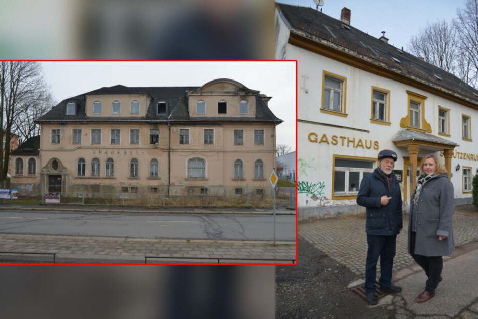 Kampf um Bauruine in Siegmar: Stadt soll historische Häuser retten