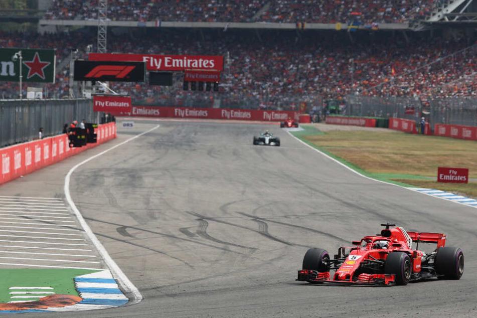 Grand Prix von Deutschland auf dem Hockenheimring im Jahr 2018.