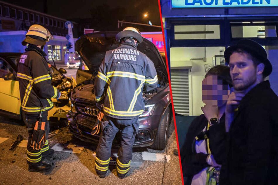 Johannes Oerding Zeuge bei schlimmem Verkehrsunfall? Zwei Schwerverletzte!
