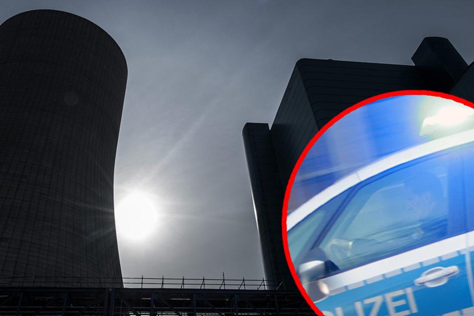 In einem Kraftwerk in Delitzsch nahm die Polizei am Sonntagvormittag zwei schusselige Diebe fest. (Symbolbild)