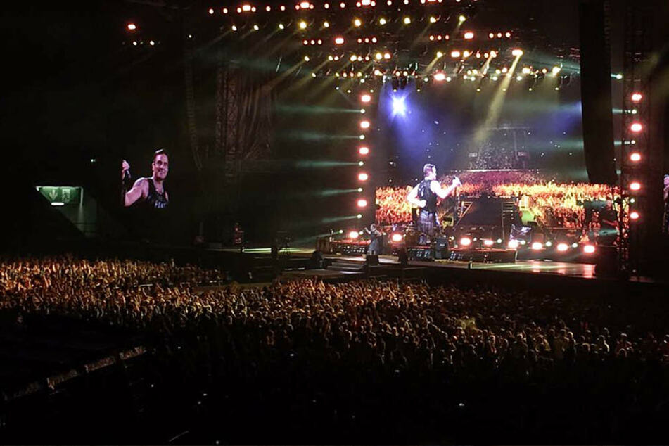 """Dresden, I Love You!"" Robbie Williams liefert Mega-Show ab"