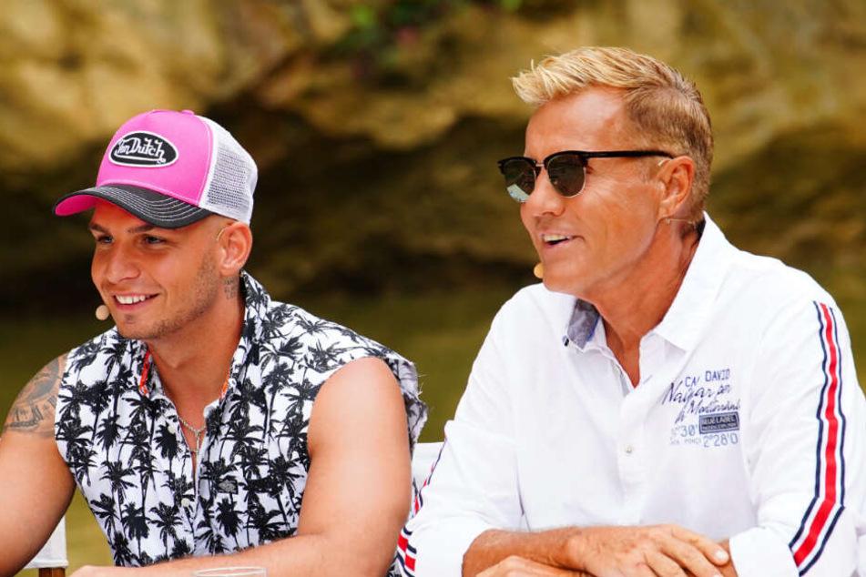 DIe Jury-Mitglieder Pietro Lombardi (links) und Dieter Bohlen waren von dem Auftritt hin und weg.