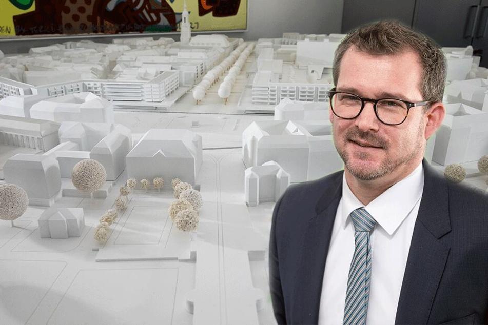 Großartige Pläne rund um den Goldenen Reiter: Die Innere Neustadt wird wieder königlich