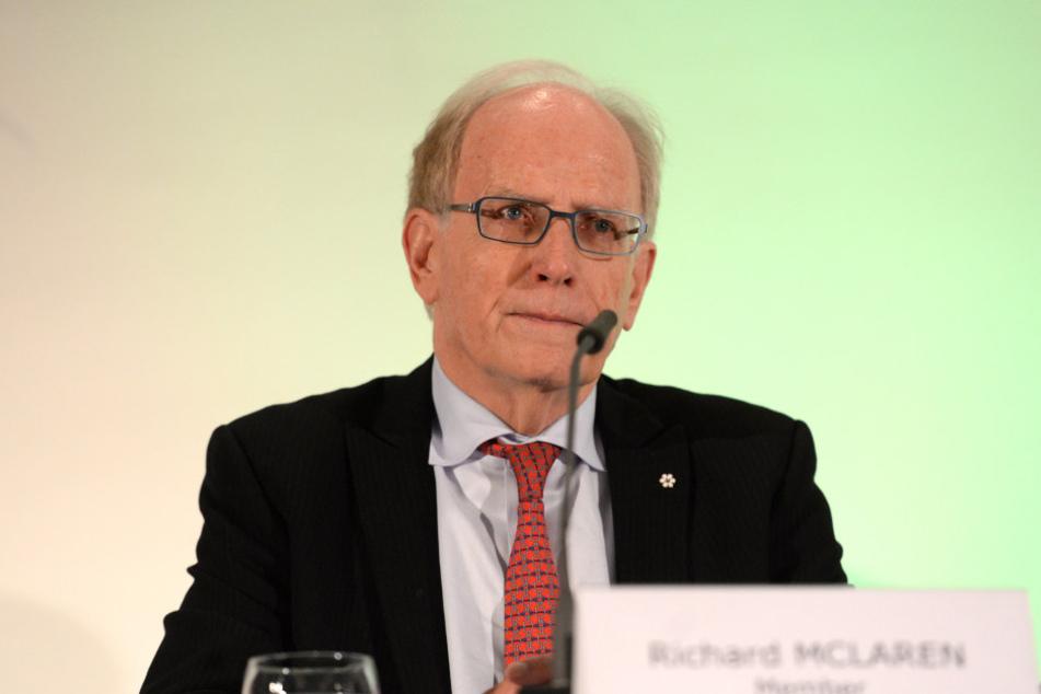 WADA-Chefermittler Richard McLaren.