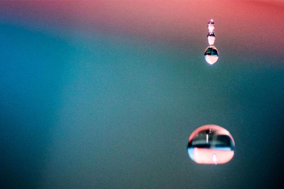 Extrem eisiges Wasser kommt auch in der oberen Erdatmosphäre vor (Symbolbild).