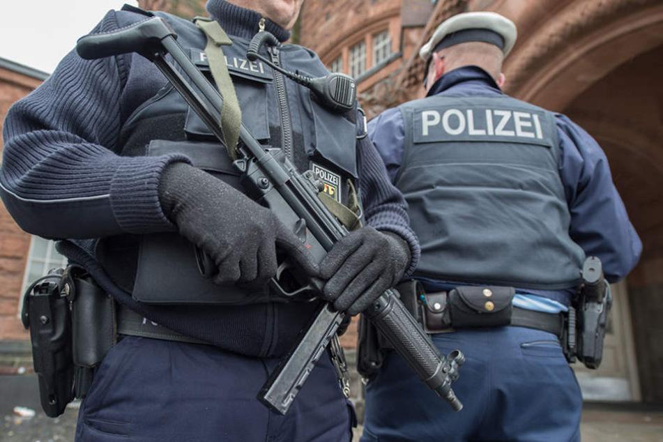 Am 11. August ging in Leipzig eine Maschinenpistole verloren. (Symbolfoto).