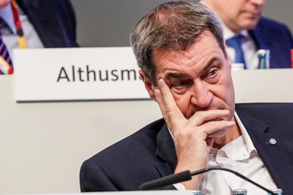 """Söder bekennt sich zum """"Autoland Bayern"""" und erntet einen Shitstorm"""