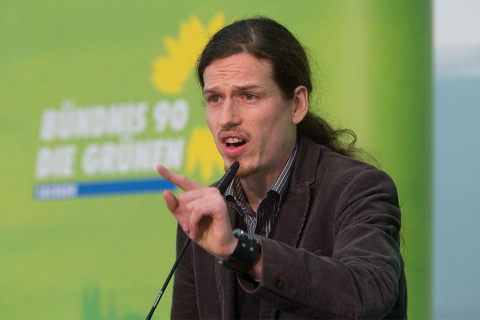 """Landesvorstandssprecher der Grünen Jürgen Kasek (37) fordert: """"Wir müssen uns stärker einmischen."""""""