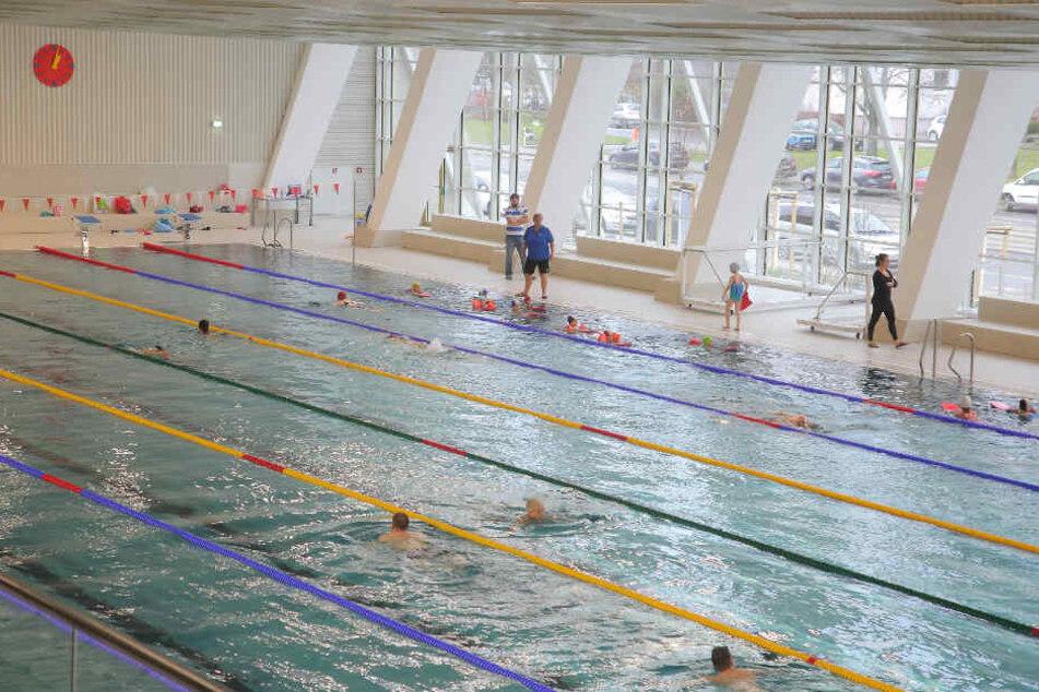 Im Januar kamen rund 5000 Badegäste mehr als im gleichen Zeitraum ein Jahr zuvor.
