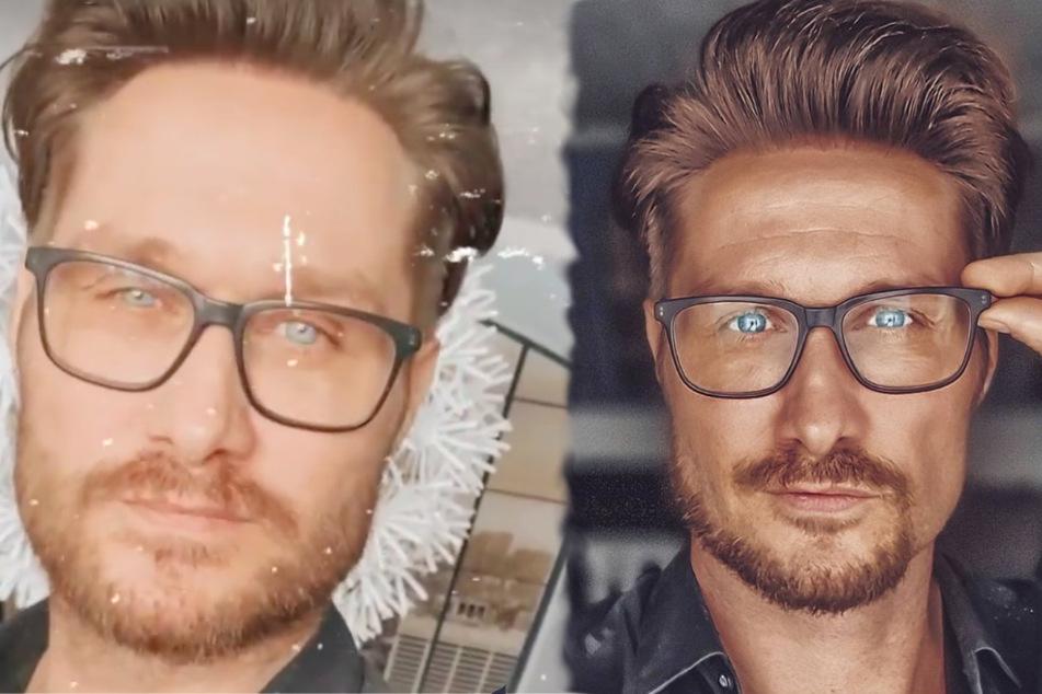 """Neuer Look: Nico Schwanz trägt jetzt einen """"Affenschwanzbart"""""""