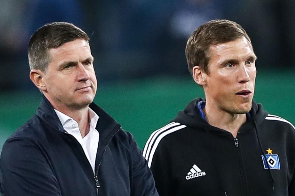 Ralf Becker schmiss vor Kurzem nach Hannes Wolf als HSV-Trainer raus, nun musste er selber gehen.