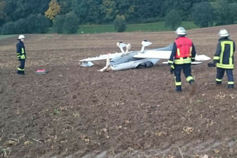 Das Ultraleichtflugzeug hatte wohl einen technischen Defekt, weswegen der Pilot notlanden musste.