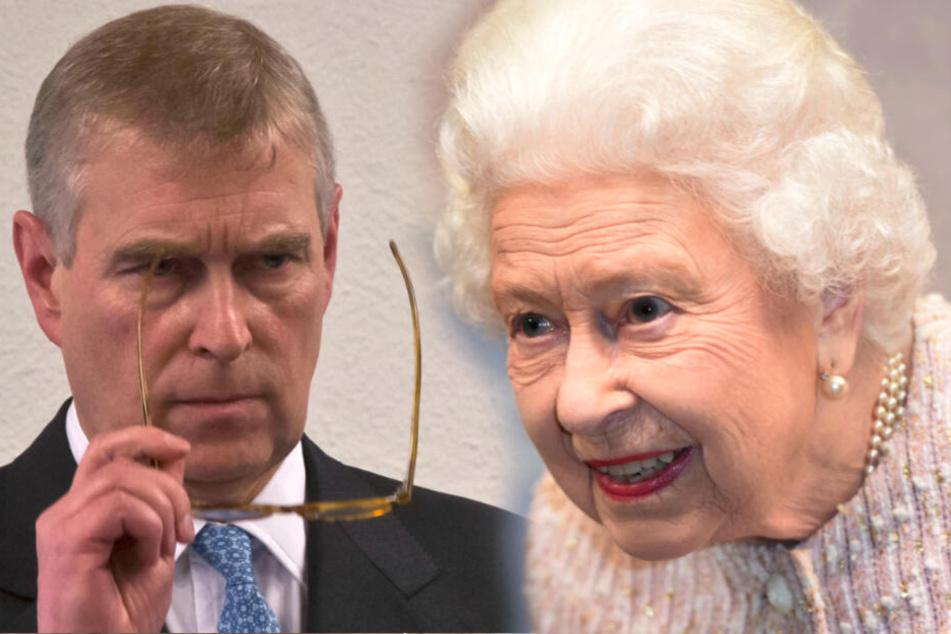 Nach Sex-Vorwürfen: So reagiert die Queen auf Skandal-Prinz Andrew