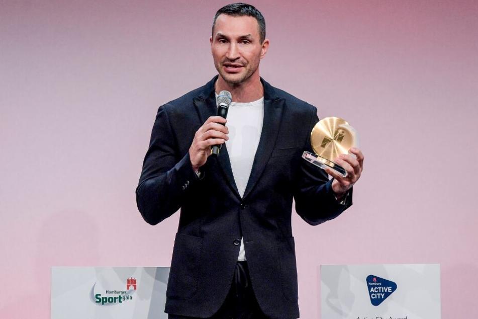 Dem ehemaligen Boxweltmeister ist der Ehrenpreis für sein Lebenswerk verliehen worden.