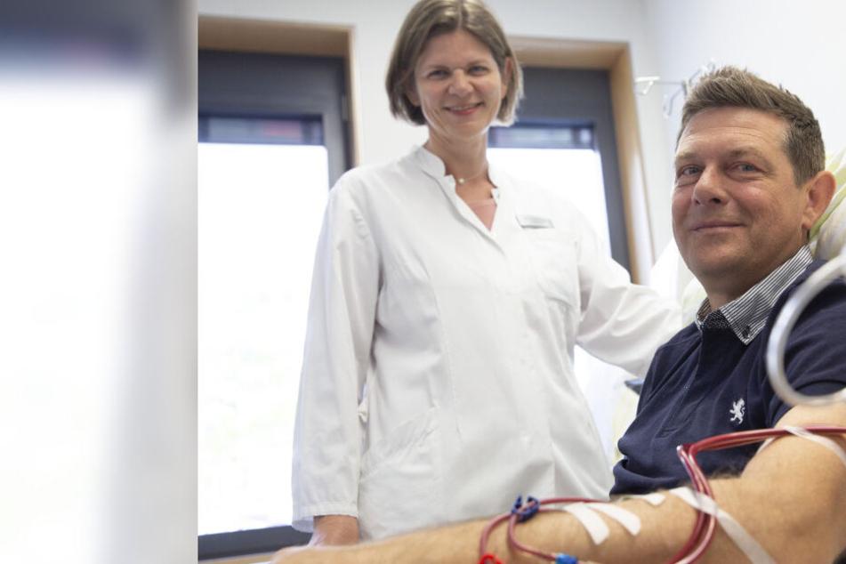 Stundenlange Dialyse, jahrelanges Warten: Wann bekommt Sachse Stefan seine Spenderniere?