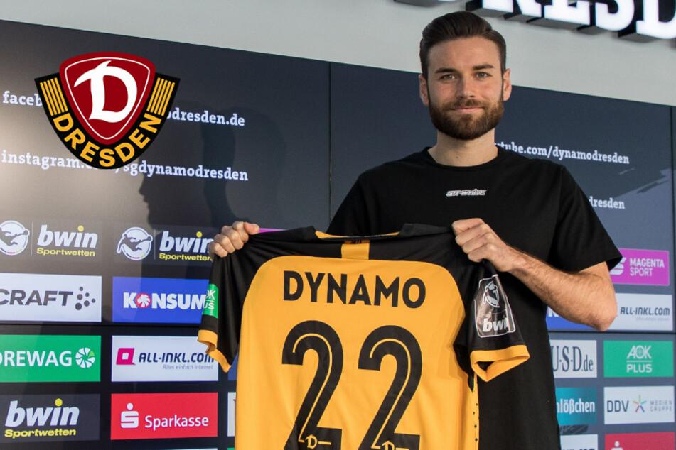 """Zweite Chance mit der Nummer 22 bei Dynamo: """"Kreuz"""" ist wieder da!"""