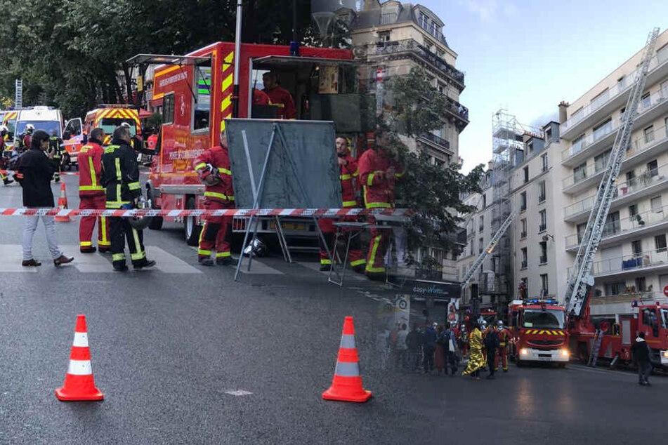 200 Feuerwehrleute im Einsatz! Über 30 Verletzte und drei Tote bei Brand in Paris