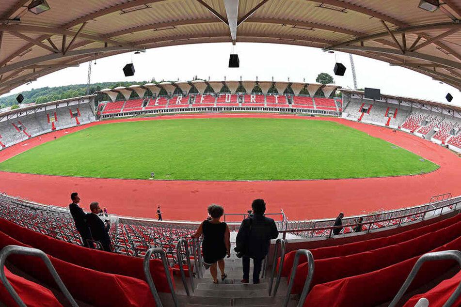 40 Millionen Euro kostete der Umbau des Steigerwaldstadions bisher.