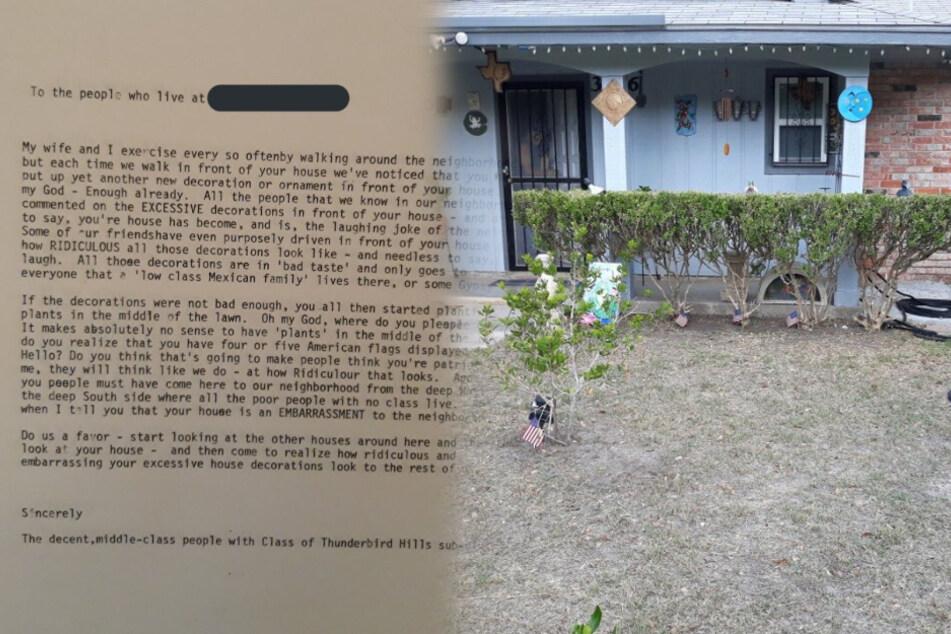 Opa erhält bitterbösen Brief von Nachbar: Der Inhalt macht Enkelin rasend