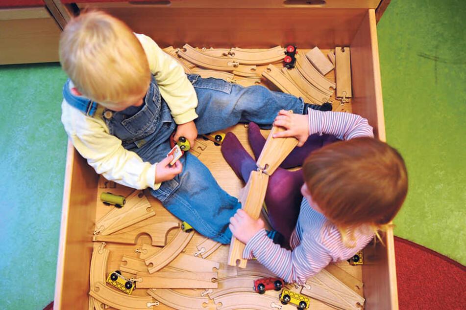 Im Rathaus soll es wieder eine Kinderbetreuung geben.