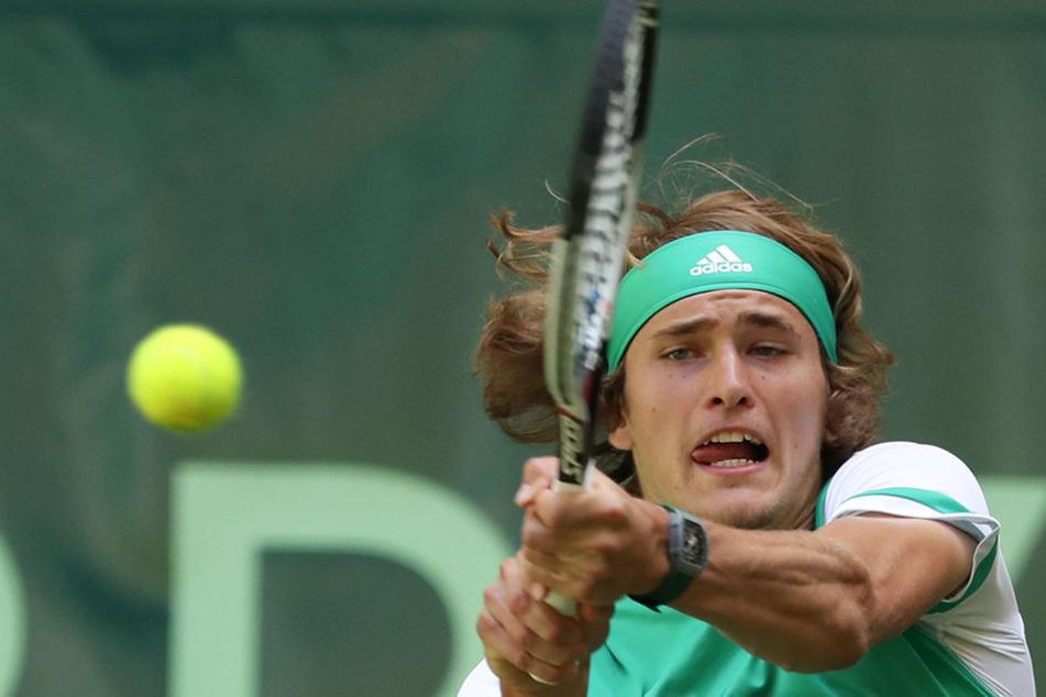 Alexander Zverev in Halle im Eiltempo weiter