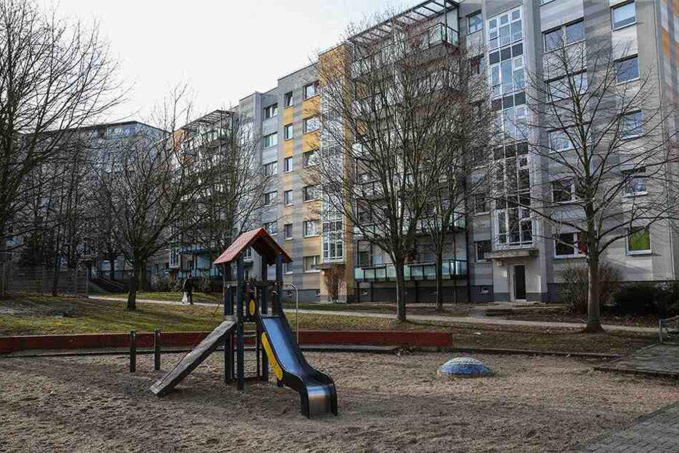 Der Überfall ereignete sich auf einem Spielplatz an der Robinienstraße.