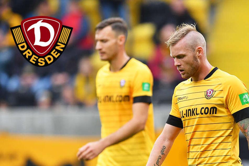 Ganz bitter! Dynamo verliert gegen Hannover und Kreuzer fliegt vom Platz
