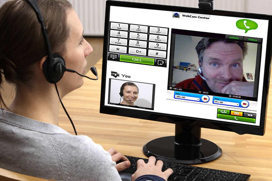 Wer seine Webcam abklebt, kann sich nicht mehr ungestört dem Video-Chat widmen.