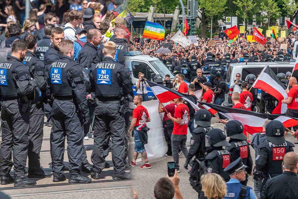 Das sagt die Polizei zum Demo-Samstag in Chemnitz