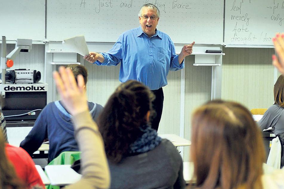 Vor allem an Oberschulen unterrichten oft dicke Lehrer,enthüllt jetzt Sachsens neuer Gesundheitsreport.