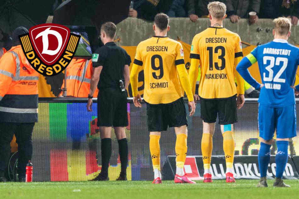 Dynamo-Einspruch ohne Erfolg! Pleite gegen Darmstadt bleibt bestehen