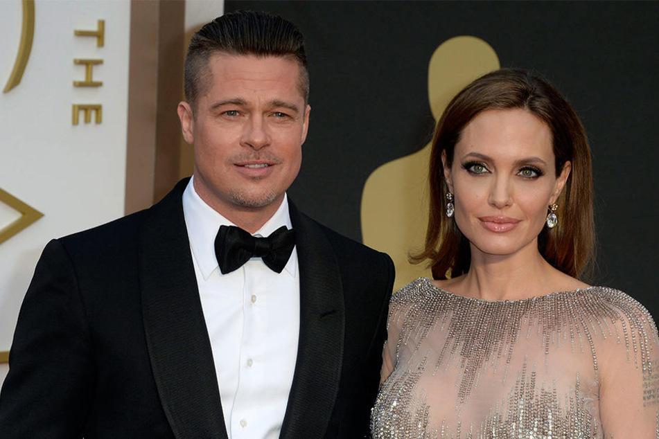Damals war die Welt noch in Ordnung: Die US-Schauspieler Angelina Jolie und Schauspieler Brad Pitt 2014 in Hollywood.