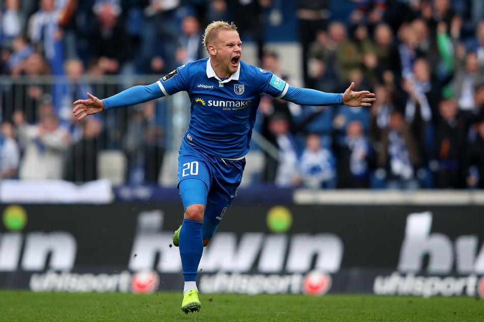Magdeburgs Sören Bertram (28) ist gegen eine Fortsetzung der 3. Liga.