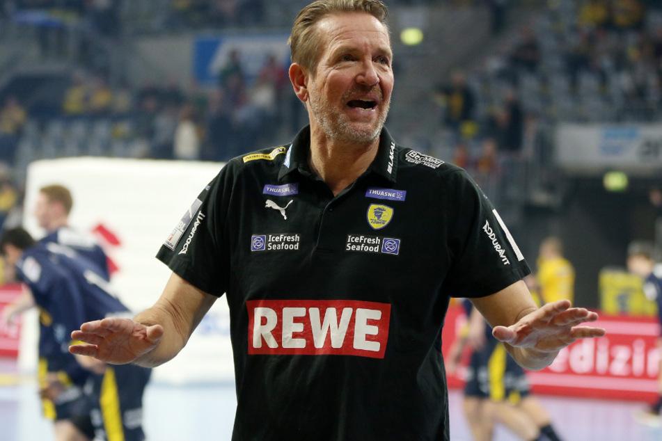 Martin Schwalb ist Trainer der Rhein-Neckar-Löwen.