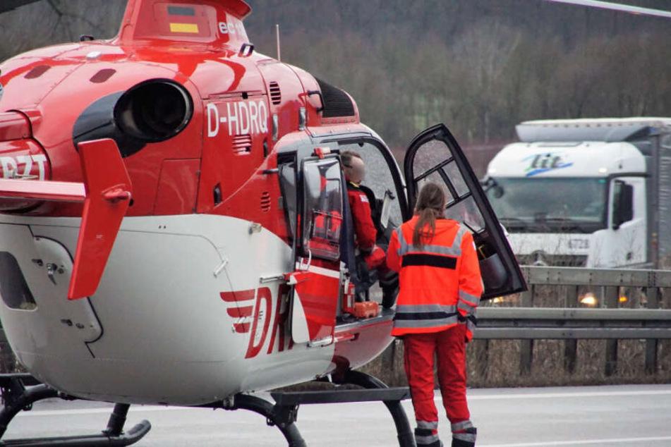 Horror-Crash: Motorradfahrer stirbt nach Zusammenstoß
