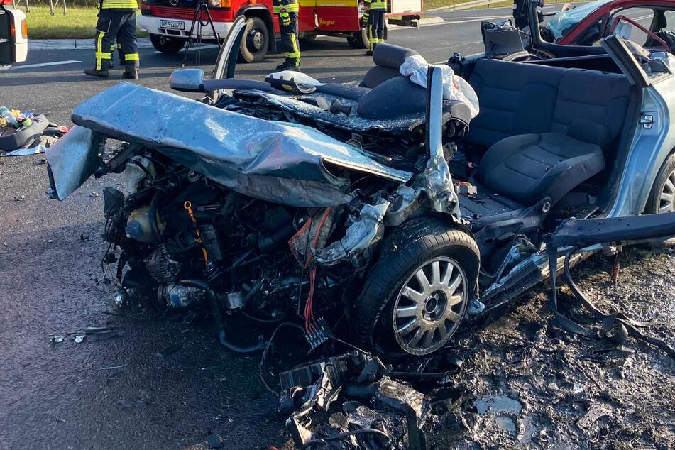 Auf der B279 in Unterfranken kam es am Mittwochmorgen zu einem tödlichen Frontal-Zusammenstoß.