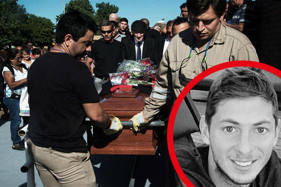 Herzergreifend! Freunde und Verwandte nehmen Abschied von Fußball-Star Sala (†28)