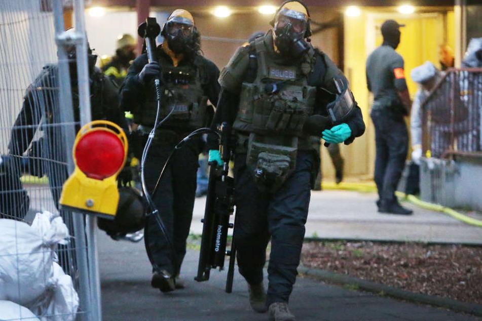 Die Wohnung des Verdächtigen war erstmals am 12.06.18 untersucht worden, wenig später wurde das Gift gefunden.