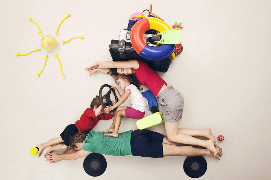 Mit des Deutschen liebstem Kind in die Ferien: 55 Prozent der Bundesbürger fahren mit dem eigenen Fahrzeug in den Urlaub.