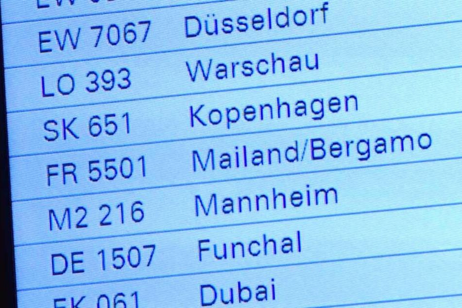 Es handelte sich um den Flug Nummer 5501 aus Mailand.