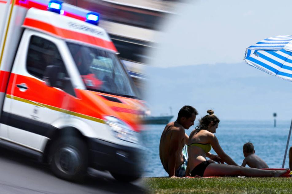 Vater will Tochter aus Bodensee retten und ertrinkt fast!