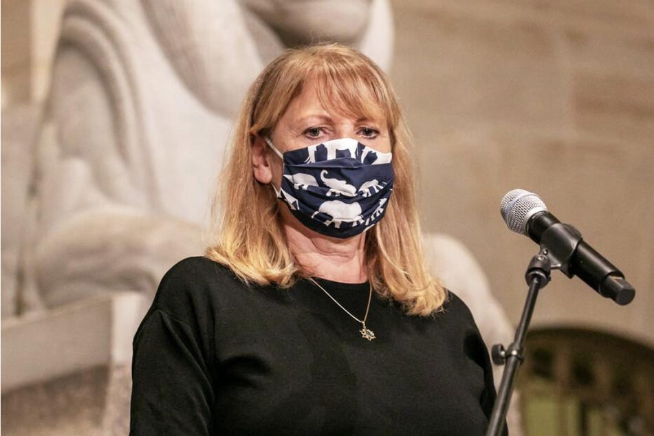 Sozialministerin Petra Köpping (62, SPD).