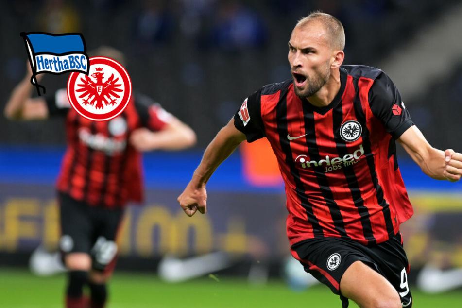 Enttäuschende Hertha verliert gegen Frankfurt: Eintracht erobert die Tabellenspitze