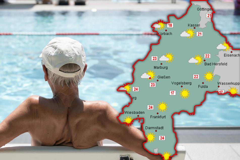 Dauerregen adé? Sonnenschein und Wohlfühlwetter über Hessen