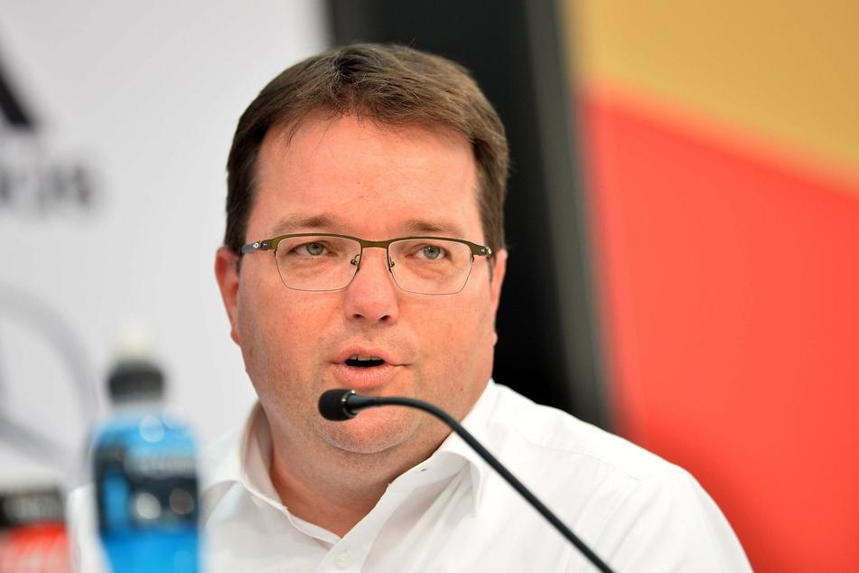 """""""Ein Schlag ins Gesicht"""", sagt DFB-Schatzmeister Dr. Stephan Osnabrügge."""