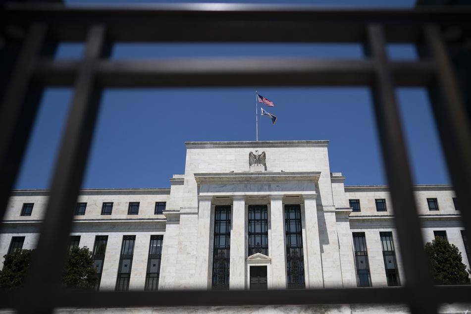 Das Gebäude der US-Notenbank in Washington.