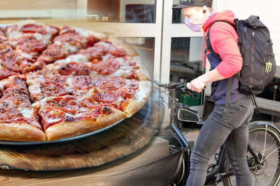 Tröpfcheninfektion: Ansteckung durch Liefer-Pizza?