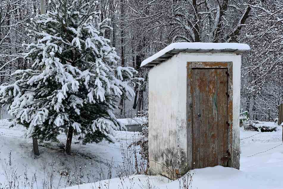 Woman gets mauled from below while using remote Alaskan outhouse