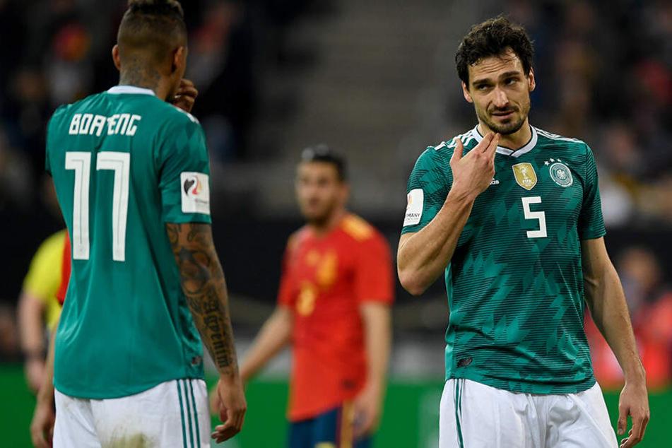 Joachim Löw bleibt sagt Nein: Neben dem ebenfalls aussortierten Jerome Boateng wird wohl auch Mats Hummels beim DFB kein Comeback feiern dürfen.
